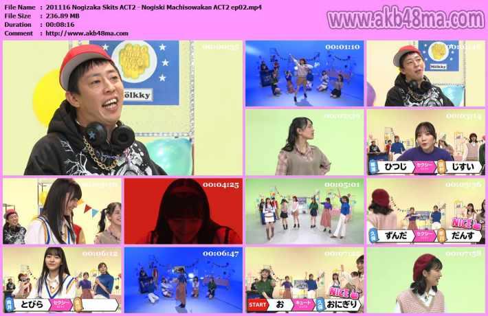 201116 Nogizaka Skits ACT2