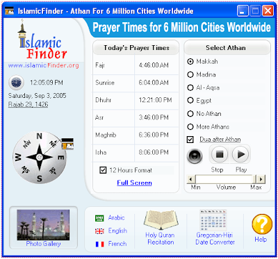 Download athan (azan) software 4. 4 for over 6 million cities.