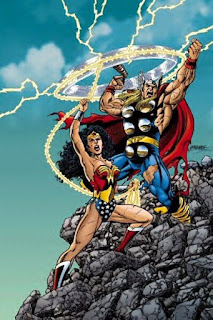 Thor vs Wonder Woman