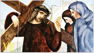 Via Sacra 08 'Jesus Encontra as Mulheres de Jerusalém', na Capilla Hotel de Villavicencio