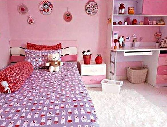 31 Desain Kamar Tidur Anak Perempuan Minimalis Usia 6 12 Tahun