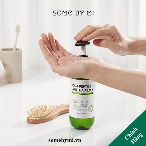 Dầu Gội Ngăn Rụng Tóc SOME BY MI Cica Peptide Anti Hair Loss