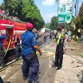 Gudang Kasur Busa di Bojongsari Purbalingga Terbakar