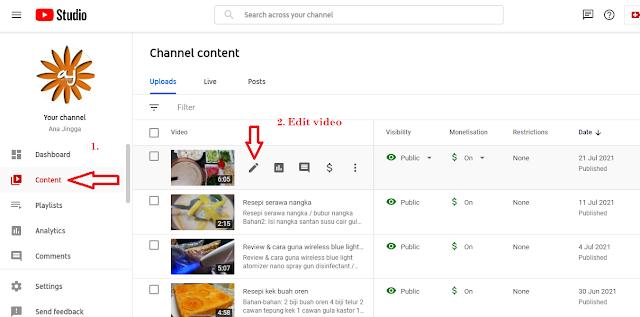 tips naikkan subscribers youtube