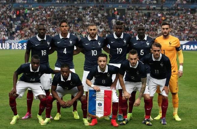 Daftar Pemain Timnas Perancis Euro 2016