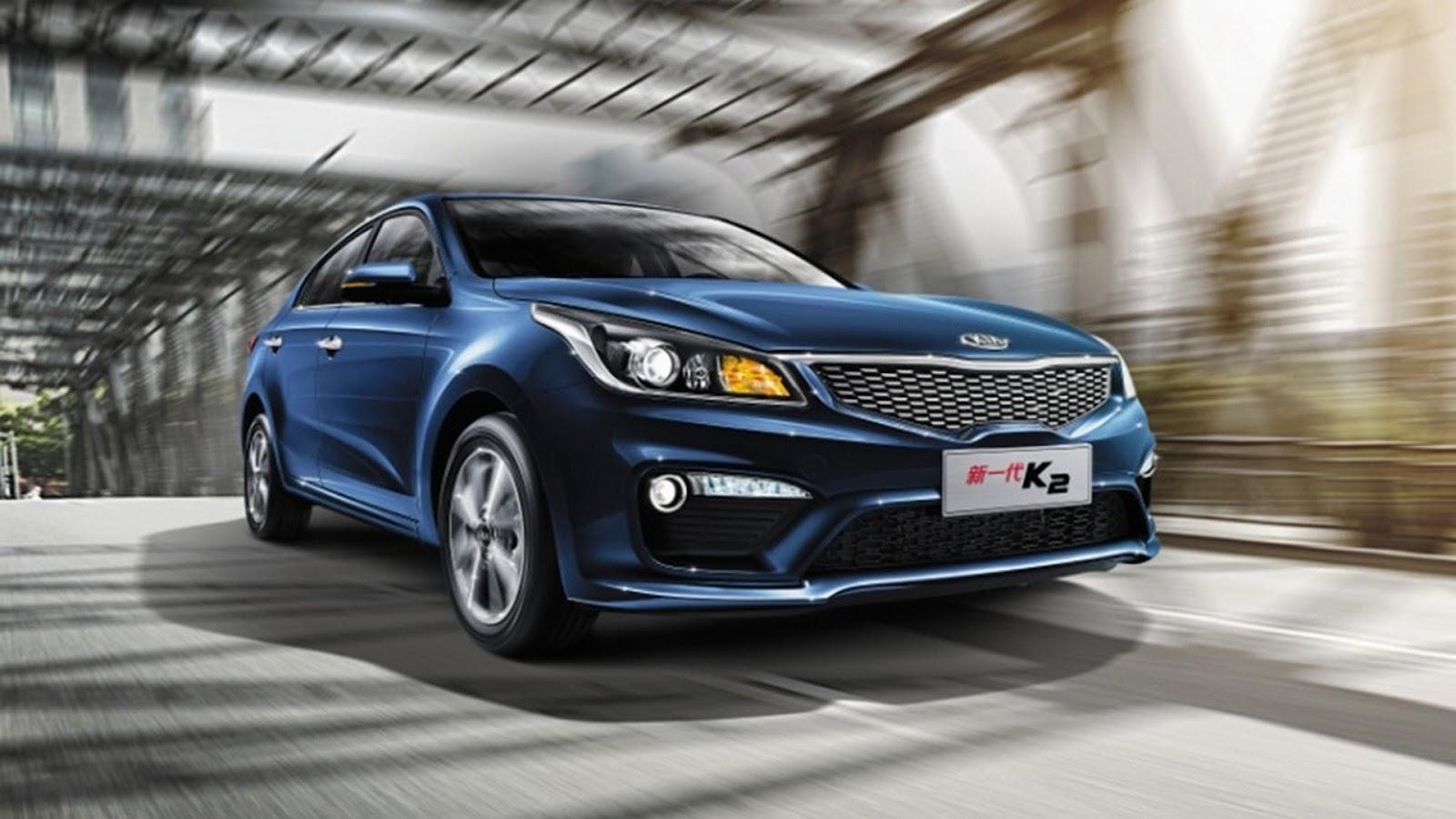 china 39 s 2018 kia k2 previews new rio sedan types cars. Black Bedroom Furniture Sets. Home Design Ideas