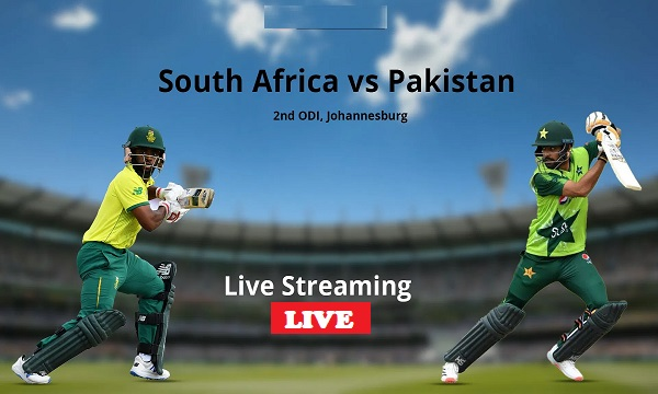 Pakistan and South Africa Second ODI Live Streaming: PAK vs SA Live Streaming Direct Link