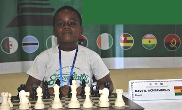 8-Year-Old Ghanaian Wins Africa Under 9 Chess Championship