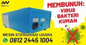 Harga Alat Sterilisasi Virus dan Bakteri Ozone Generator Ruangan - Menghilangkan Bau, Virus, Kuman dalam Air