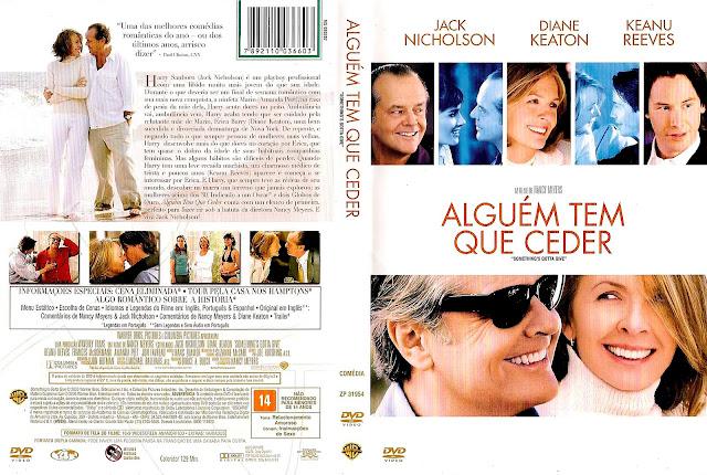 Capa DVD Alguém Tem Que Ceder