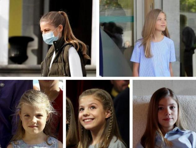 Los 14 años de la infanta Sofía