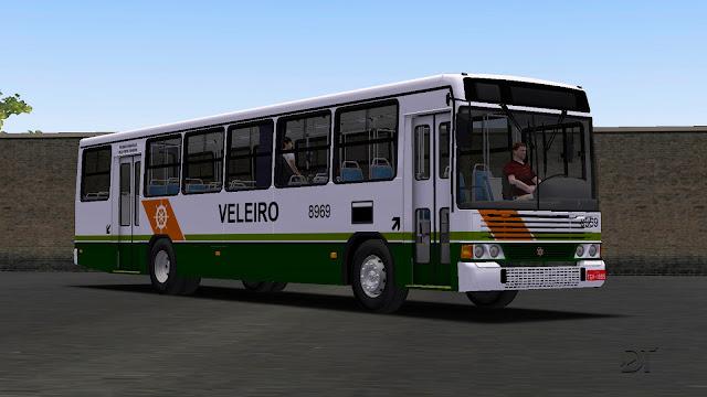 OMSI 2 - Pintura da Viação Veleiro para o Marcopolo Torino GV MB OF-1721 Euro II