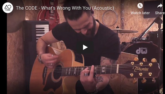 The CODE - What's Wrong With You (Acoustic)