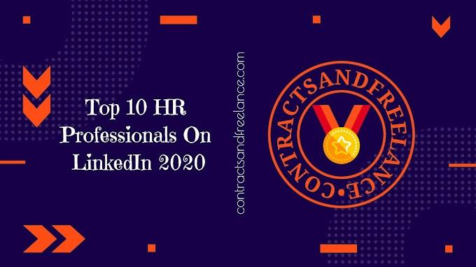 Top 10 HR Professionals On LinkedIn | 2020