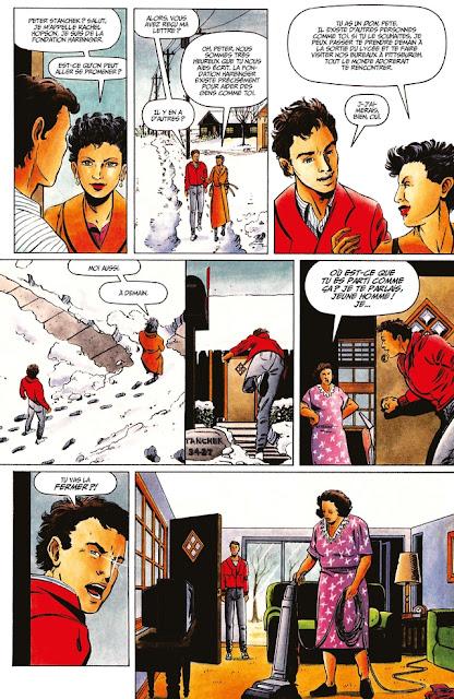 Intégrale Harbinger  1992 de Jim Shooter et David Lapham aux éditions Bliss Comics planche 3