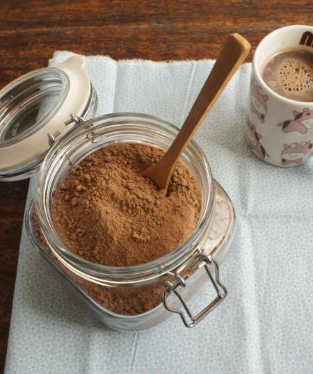 mistura para chocolate quente