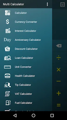 تحميل تطبيق آلة حاسبة Multi Calculator النسخة المدفوعة كاملة للاندرويد باخر تحديث !