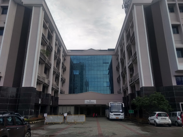 Thapasya Building in Infopark, House of NRITBI 2021