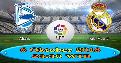 Prediksi Bola855 Alaves vs Real Madrid 6 Oktober 2018