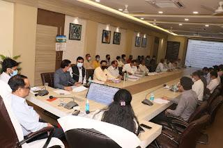पोषण अभियान अन्तर्गत बैठक आयोजित हुई