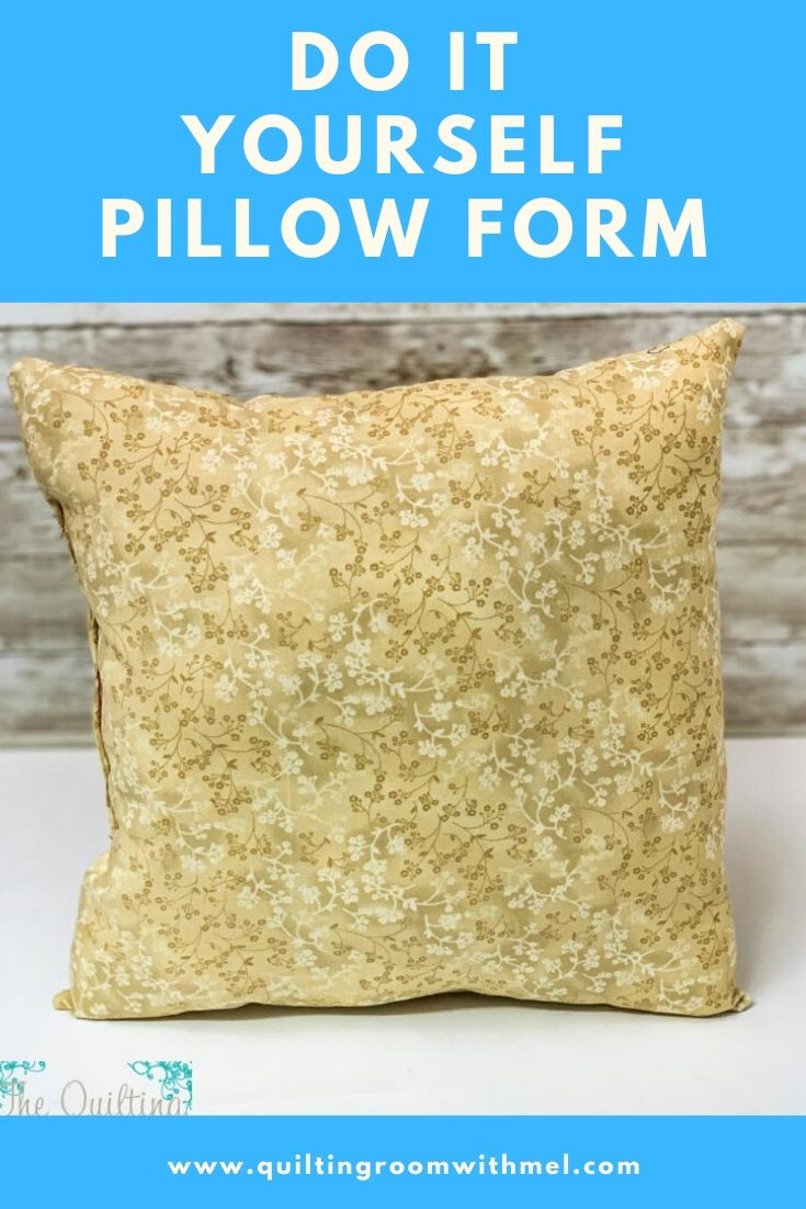 Learn how to make pillow forms yourself to dress up any room in your home.  These are perfect to use up orphaned quilt blocks.