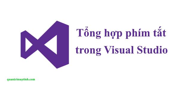phím tắt trong Visual Studio