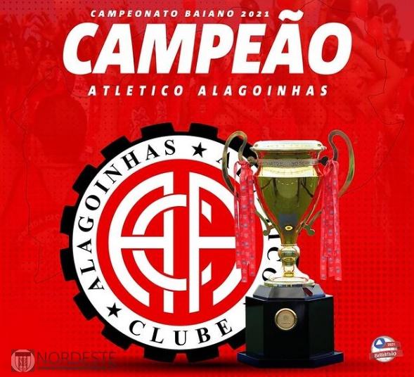 Atlético de Alagoinhas conquista 1º título estadual