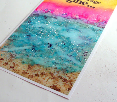 Stampers Anonymous stuff to say Ranger Alcohol Inks Yupo Paper For the Funkie Junkie Boutique