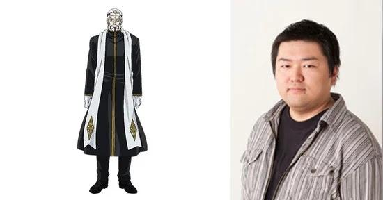 Itaru Yamamoto como Gejutel K. Landegre, asesor de Raskreia