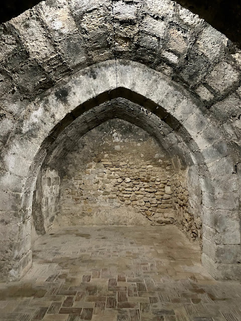 Dungeons in Xativa Castle, Valencia Region, Spain