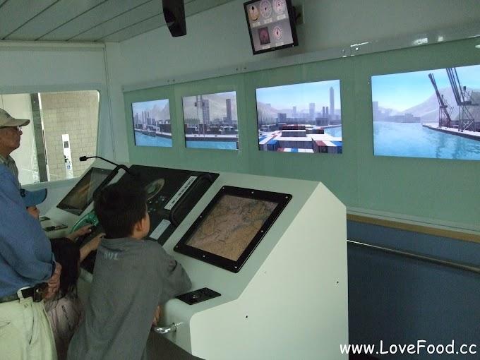 基隆仁愛-陽明海洋文化藝術館-模擬船上駕駛艙 海洋文化博物館-ocam