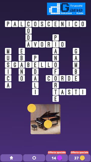 Soluzioni One Clue Crossword livello 7 schemi 2 (Cruciverba illustrato)  | Parole e foto