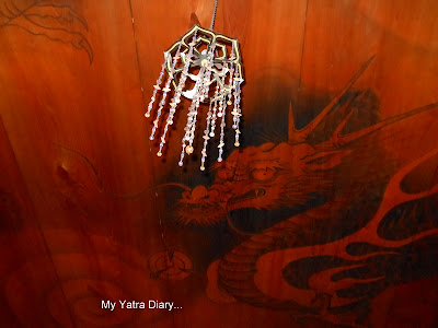 The ceiling dragon at the main temple room of the Jikoin Zen Temple, Nara - Japan