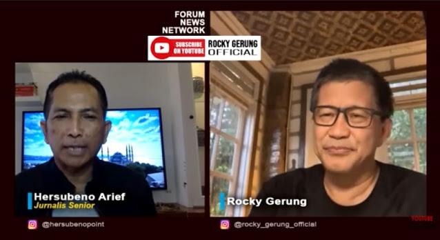 Rocky Gerung: Habib Rizieq Dimusuhi karena Gak Mau Disogok Uang dan Jabatan