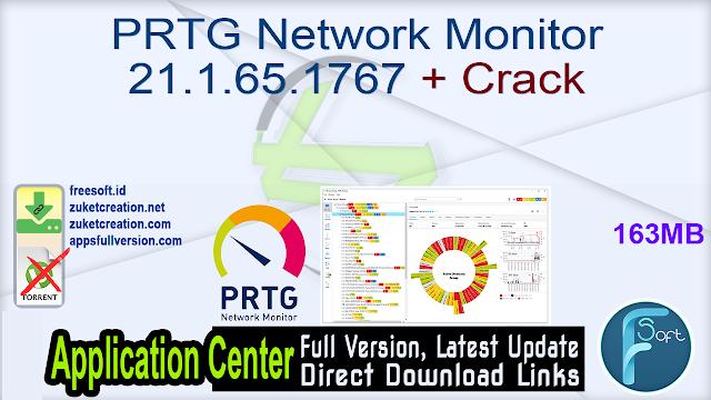 PRTG Network Monitor 21.1.65.1767 + Crack
