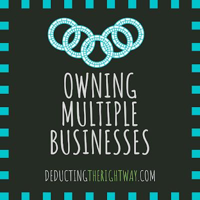 multiple LLCs. | www.deductingtherightway.com