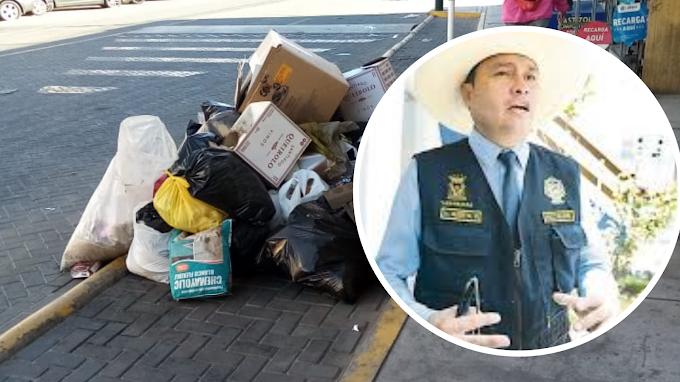 MUNICIPIO DE YANAHUARA COLABORA CON RECOJO DE BASURA EN PAUCARPATA