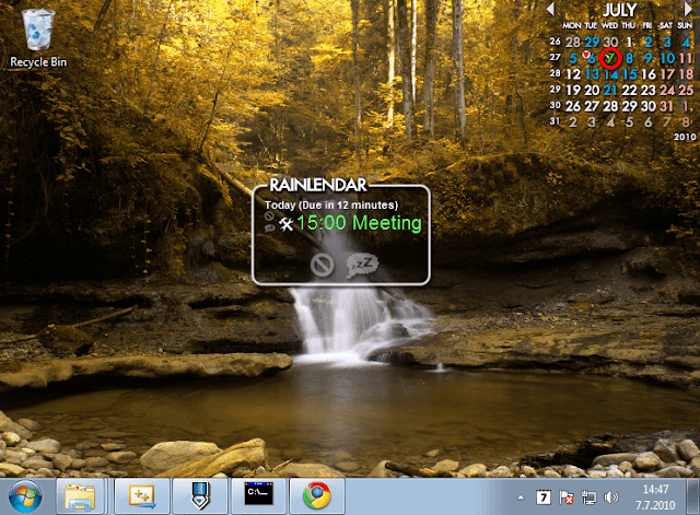 Screenshot Rainlendar Pro 2.15.3 Build 165 Full Version