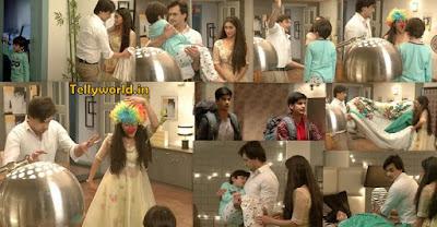 """ Naira-Kartik Becomes Clown to Cheer-Up Kairav Luv-Kush Left House "" Yeh Rishta Kya Kehlata Hai Upcoming Story Spoiler."