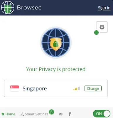 Extension Browsec
