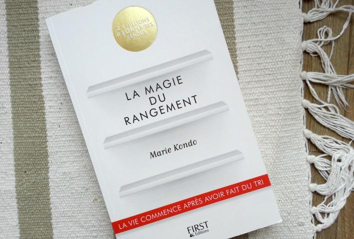 livre marie kondo la magie du rangement