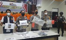 Tiga Kasus sekaligus di Ungkap Polres Ketapang Kalbar