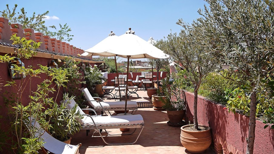 Riad Noga Rooftop Terrace Morocco