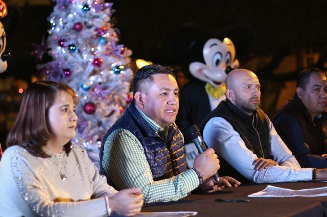 Presenta Víctor Manríquez programa del 5º Festival Navideño de Uruapan