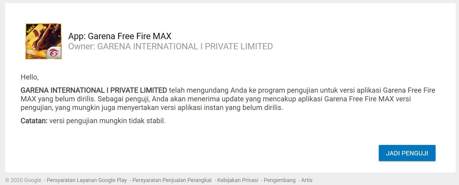 Kapan FF Max Rilis di Indonesia