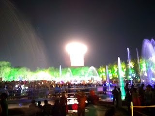 Jamshedpur Jubilee Park 3rd March Lighting 2018 Jubli Park, Light  founders day fountain