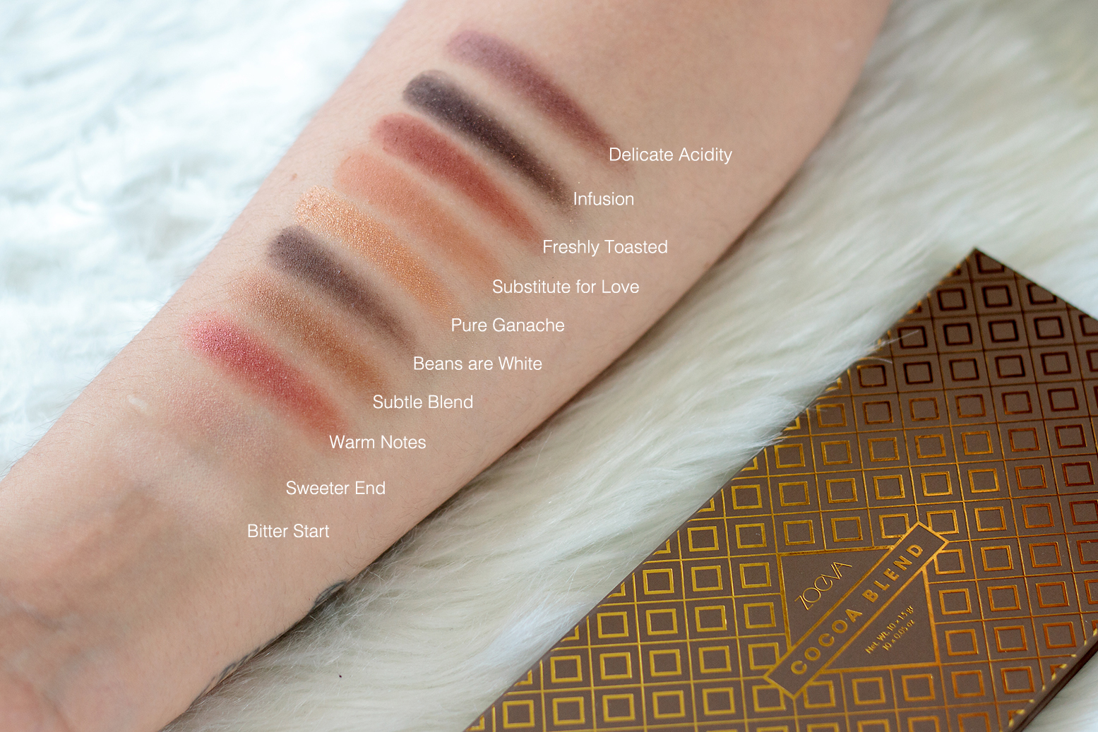 cocoa blend swatch
