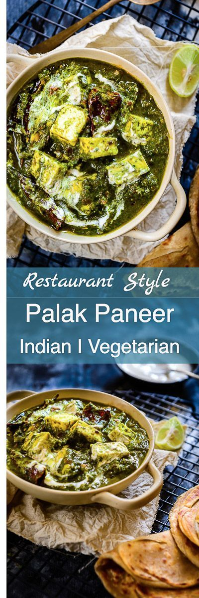 Step By Step Tutorial on How to make Palak Paneer Restaurant Style Recipe, How to make Restaurant Style Palak Paneer, Cottage Cheese in Spinach Gravy