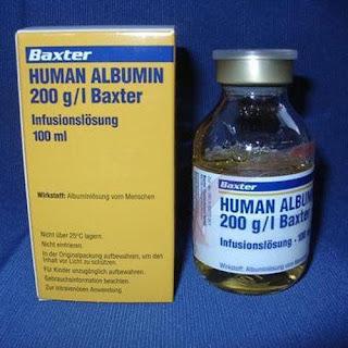 هيومان ألبيومين حقن لعلاج مرضى الكبد Human Albumin Injection