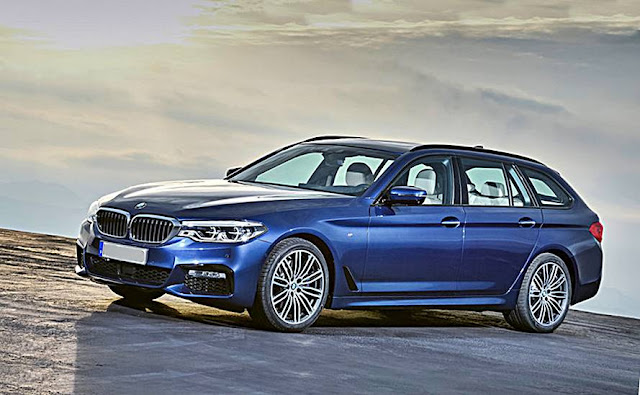 2017 BMW 5 Series Touring revealed
